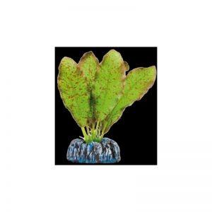 Planta artificial Seda Echinodus moteado 11 cm
