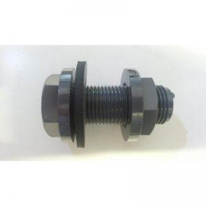 Pasamuro PVC para taladro de 20 mm