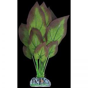 Planta artificial Seda Ninfa bronceada 30 cm