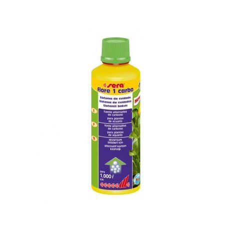 Sera flore 1 carbo (Sera) 250 ml