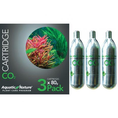 Bombona CO2 Pack de 3 x 80 gr. (Aquatic Nature)