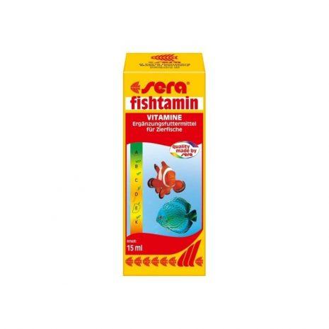 Fishtamin vitaminas (Sera) 15 ml (OULET)