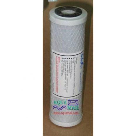 Recambio filtro (CTO) Declorador de agua Aquamail