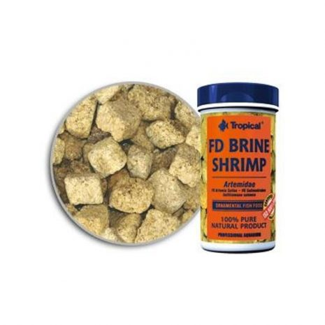 FD BRINE SHRIMP (TROPICAL) 100 ml (8 gramos).