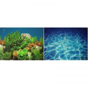 Fondo decorativo Plant/Marine Blue 58 cm (1 metro)