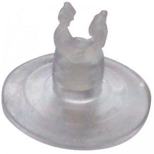 Ventosas con clip para tubo 6 mm ( 2 uni.) (Wave)