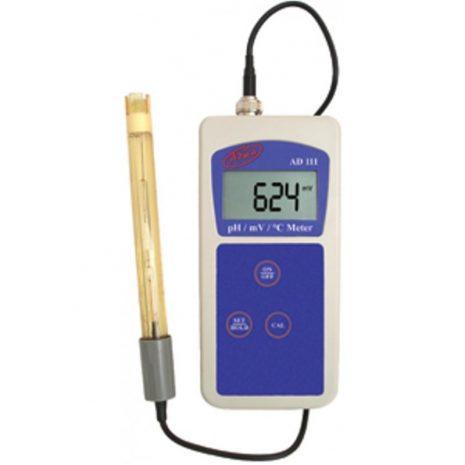 Medidor de pH y Temperatura AD110 (Adwa)