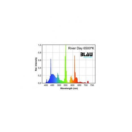 Fluor. T5 Serie Platinun River Day 6500ºK (Blau) 24w 549 mm