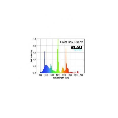 Fluor. T5 Serie Platinun. River Day 6500ºK (Blau) 39w 849 mm