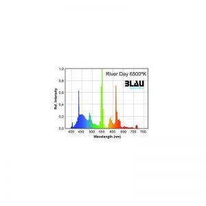 Fluor. T5 Serie Platinun. River Day 6500ºK: (Blau) 54 w 1149 mm