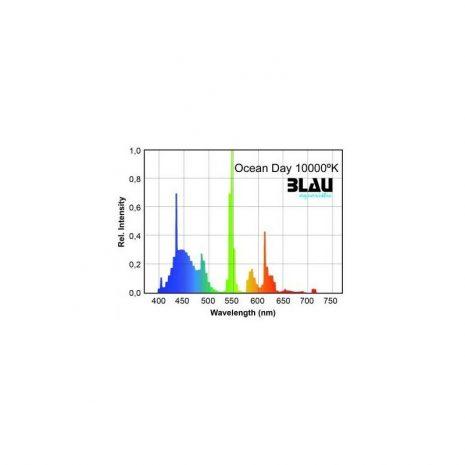 Fluor. T5 Serie Platinun. Ocean Day 10.000ºK (Blau) 39 w 849 mm