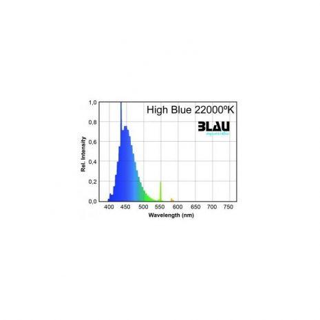 Fluor. T5 Serie Platinun. High Blue 22.000ºK (Blau) 24 w 549 mm