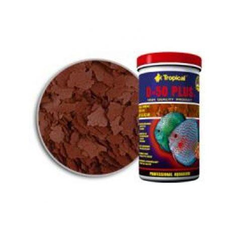 D-50 PLUS Escamas (TROPICAL) 250 ml (50 gramos).