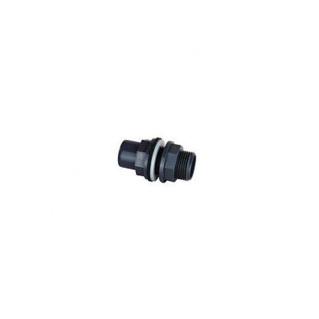 Pasamuro PVC 40/50 para taladro de 54 mm