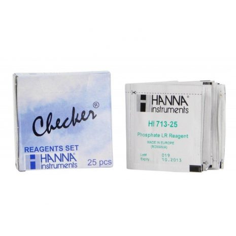 Recambio reactivo Checker Hanna para Alcalinidad