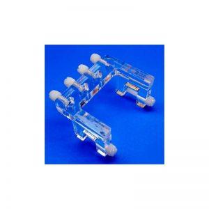 Soporte tubos dosificasdora (4 vias)