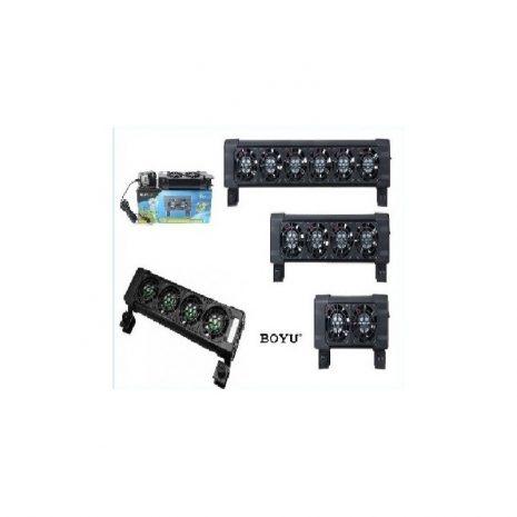 Ventilador 2 unidades 16,5 cm (Boyu)