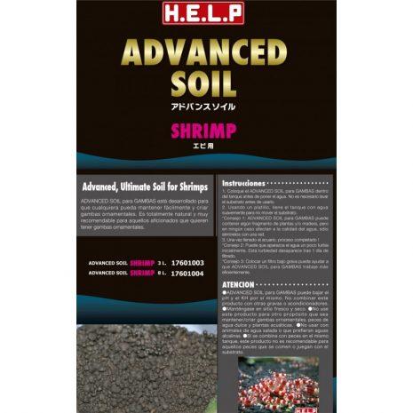 Advanced Soil Shrimp (HELP) 8 Litros. 7 Kg ap