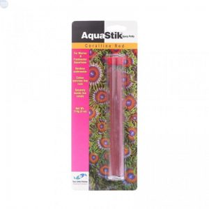 AquaStik (57g) (Two Little Fishies) - Red Coralline