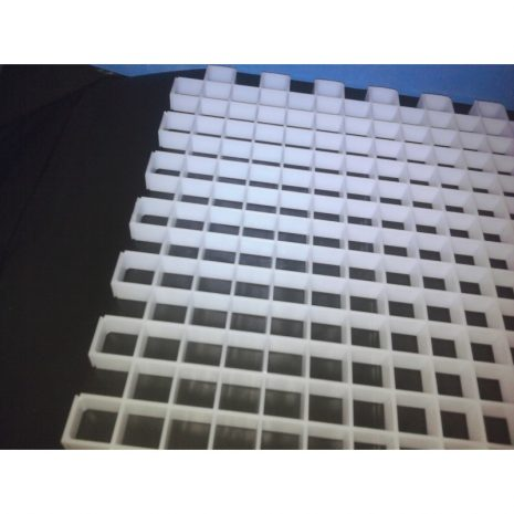 Rejilla blanca para esquejes 60 x 30 x 2 cm
