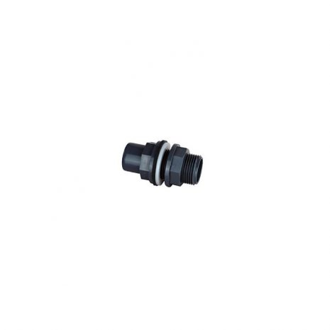 Pasamuro PVC 20/25 para taladro de 28 mm