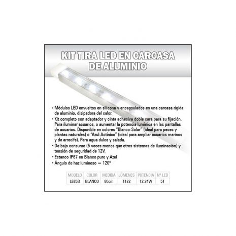 Kit de iluminación LEDS (Blanco) 29 cm