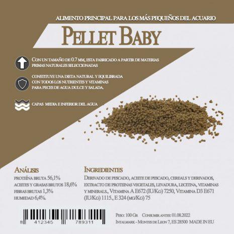 Pellet Baby (Aquamail) 100 grs