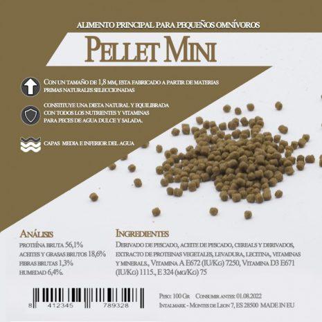 Pellet Mini (Aquamail) 100 grs