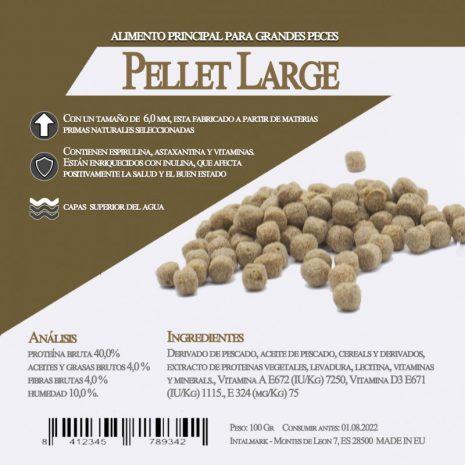 Pellet large (Aquamail) 100 grs