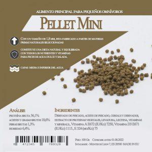 Pellet Mini (Aquamail) 600 grs