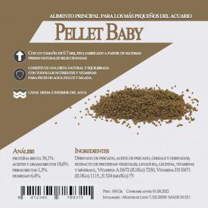 Pellet Baby (Aquamail) 600 grs