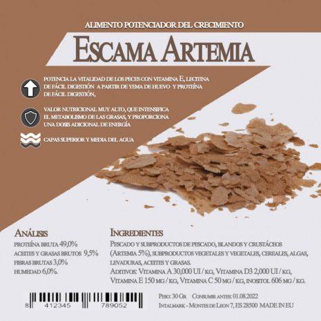 Escamas artemia
